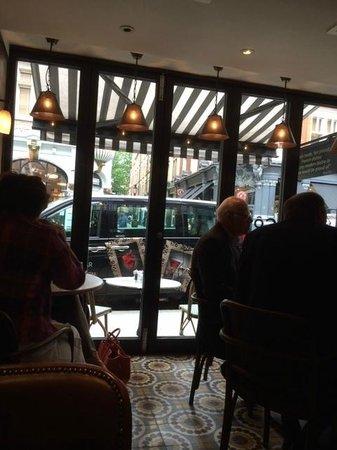 Cote Brasserie: View of window