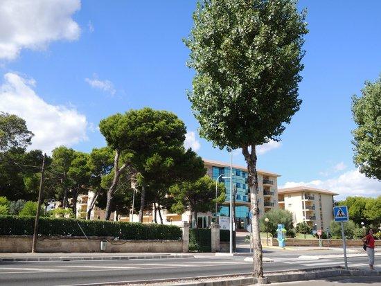 Aparthotel Ca'n Picafort Palace: Aussenansicht