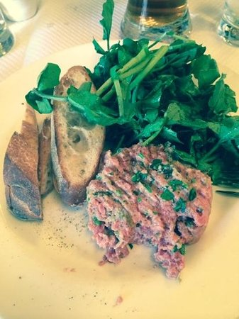 Balthazar : awesome steal tartare