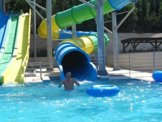 Kipriotis Aqualand: fantastic slides