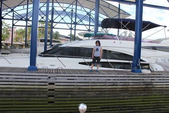 Karma Royal Boat Lagoon: boat parked