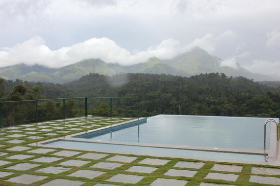 Nature Beauty From Swimming Pool Picture Of Petals Resorts Wayanad Kalpetta Tripadvisor