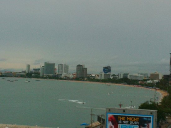 Grand Hotel Pattaya: View from room
