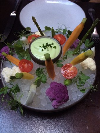 The NoMad Hotel: Appetizer in Nomad Restaurant