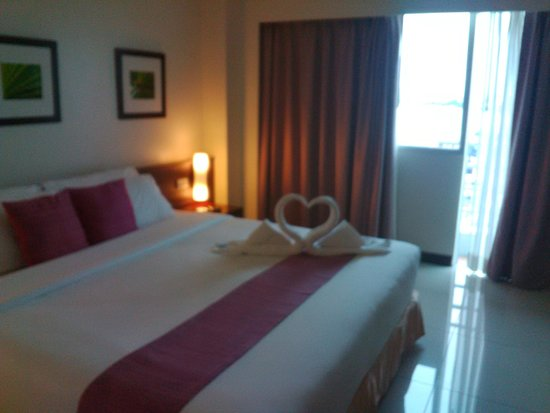 Grand Hotel Pattaya: Inside room view