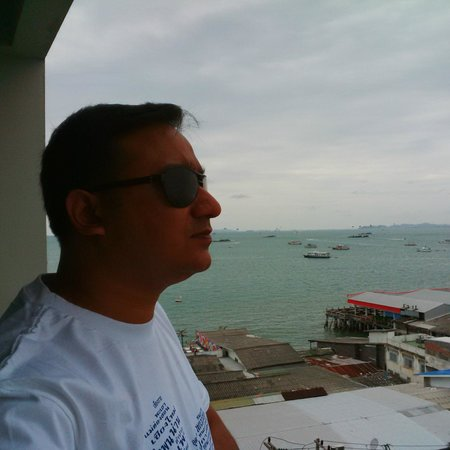 Grand Hotel Pattaya: Room Balcony