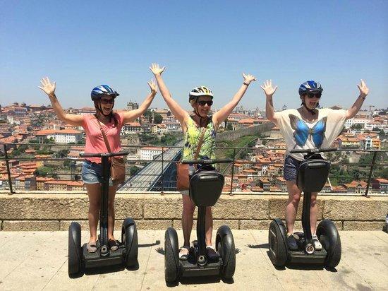 Bluedragon Porto City Tours: Bluedragon Segway Tour - AWESOME!!!