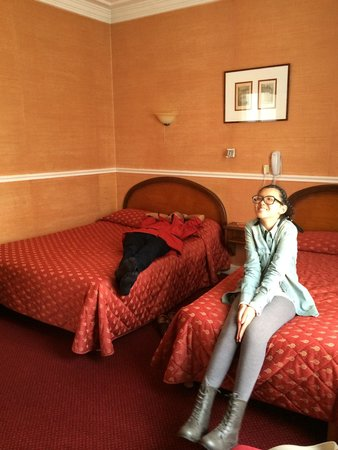 Hotel Chopin: First day (red bed spread)