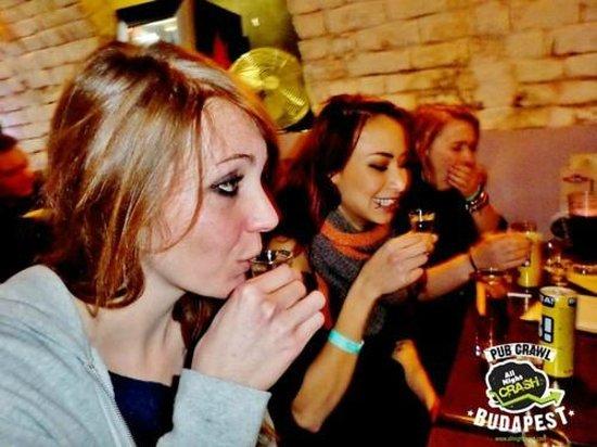 AllNightCrash Pub Crawl Budapest: Keeping the spirit