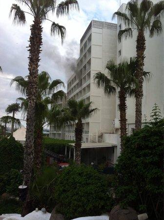 Hotel Su: Пожар в отеле 11 мая 2013 года