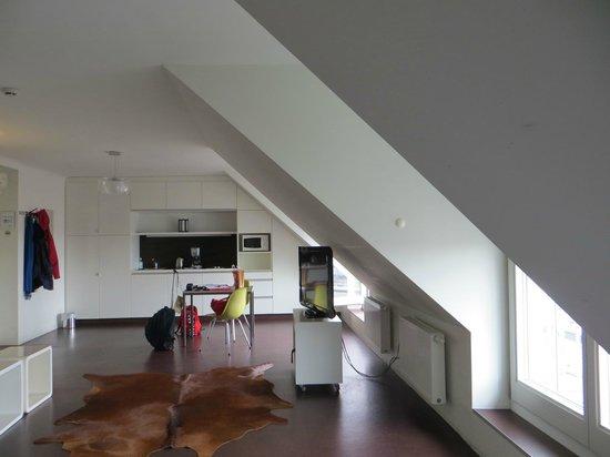 STANYS Das Apartmenthotel: апартаменты (на крыше)
