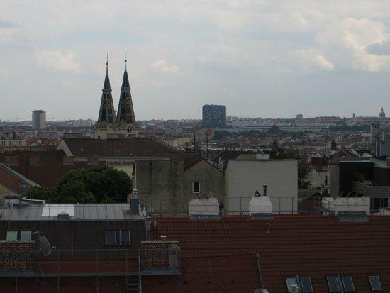 STANYS Das Apartmenthotel: Вид с балкона