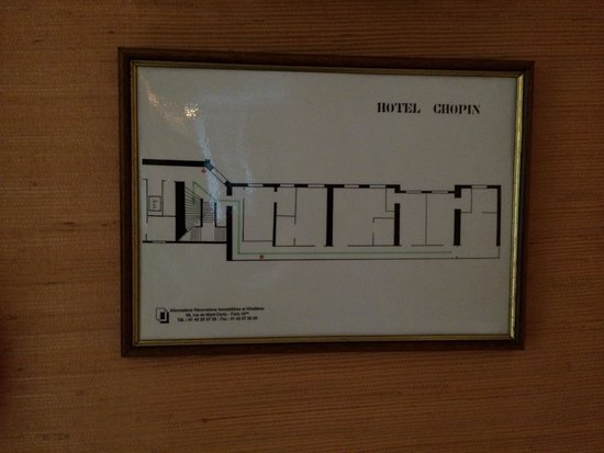 Hotel Chopin: 4th floor plan. (Add on)