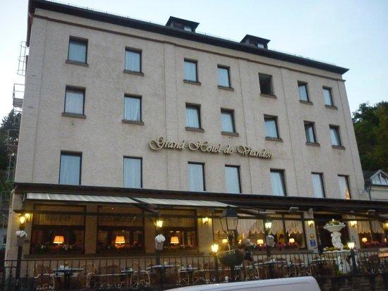 Grand Hotel de Vianden : Front of Grand Hotel Vianden