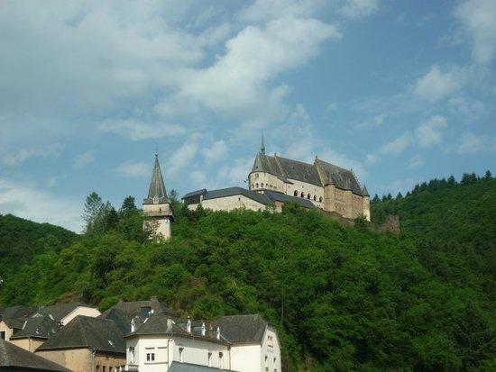 Grand Hotel de Vianden : Vianden Castle