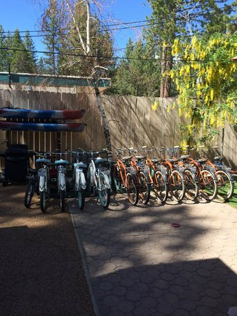 Fireside Lodge Bed and Breakfast: Free bike use