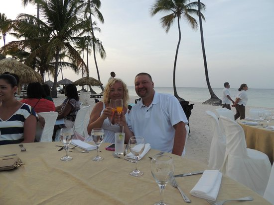 Dreams Palm Beach Punta Cana: Apple Vacation sponsored supper
