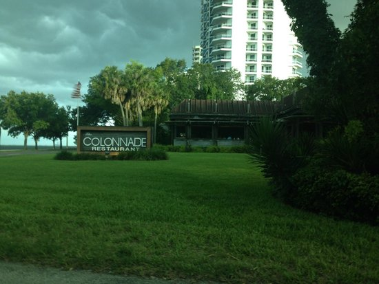 The Colonnade : Property sign