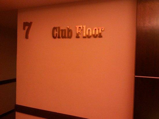 Ritz Garden Hotel: 7th floor, The Club Floor.