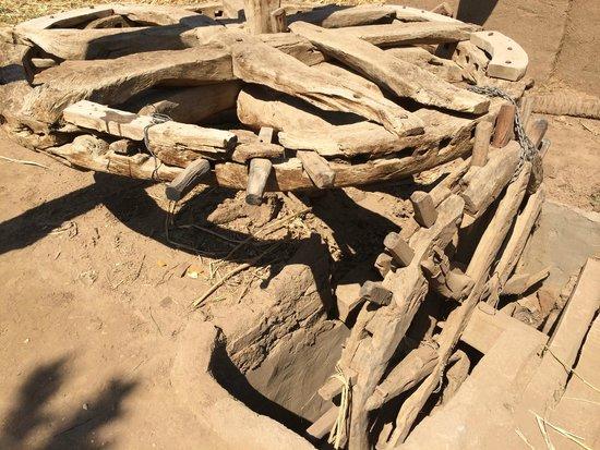 Banana Island (Gezira el-Mozh): Старый механизм для набора воды в арык