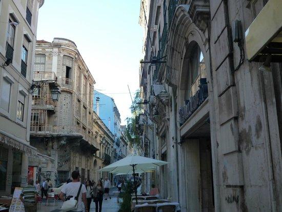 Hotel Portuense: rue de l'hôtel