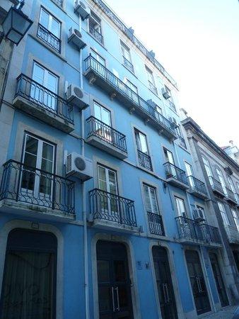 Pensao Residencial Portuense : façade hotel