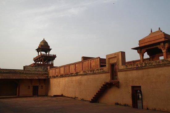 Fatehpur Sikri : ภายในบริเวณ เฟห์ตาปูร์