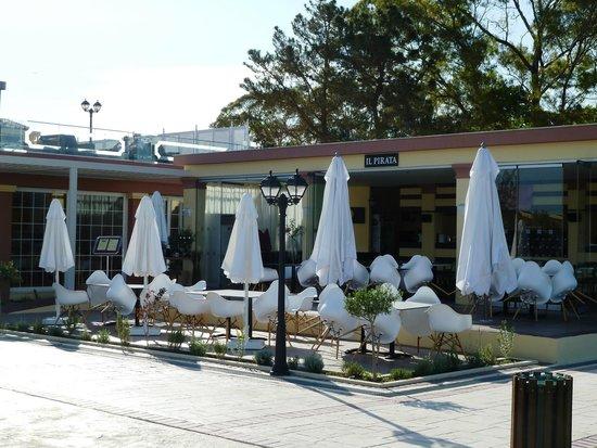 Mayor Capo Di Corfu: Restaurant- Terasse