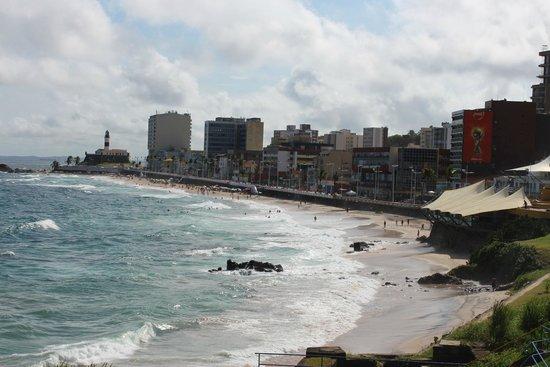 Vila Gale Salvador : Playa del faro de Barra