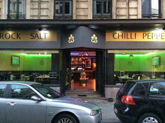 Rock Salt Chilli Peppers Brussels Restaurant Reviews