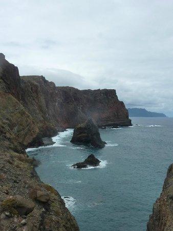 Ponta de São Lourenço : Vue le long de la rando
