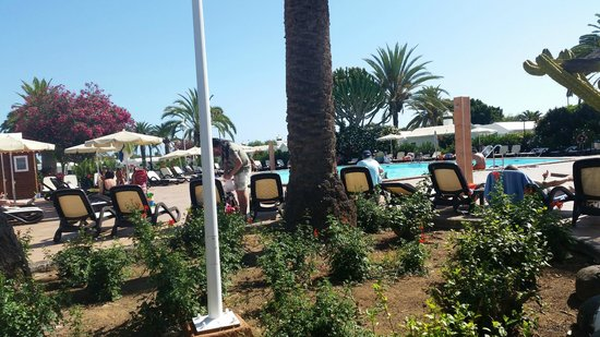 Bungalows Club Maspalomas: Pool area again with happy hour from  4 - 5!