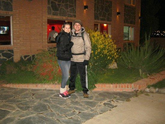 Marcopolo Suites Calafate: Fachada do Hotel