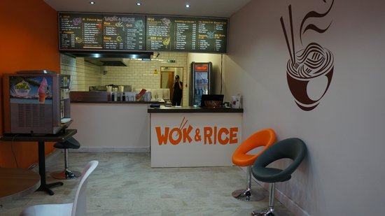 Wok and Rice: Inside