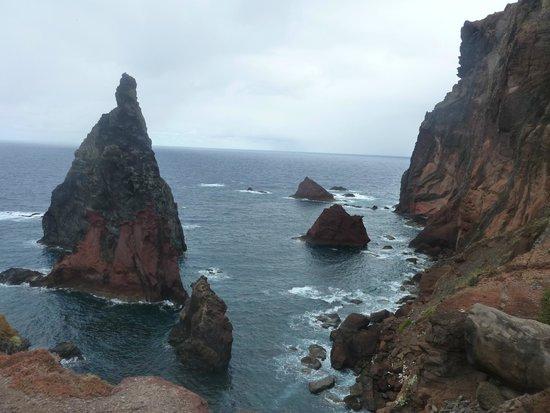 Ponta de Sao Lourenco: Vue le long de la rando