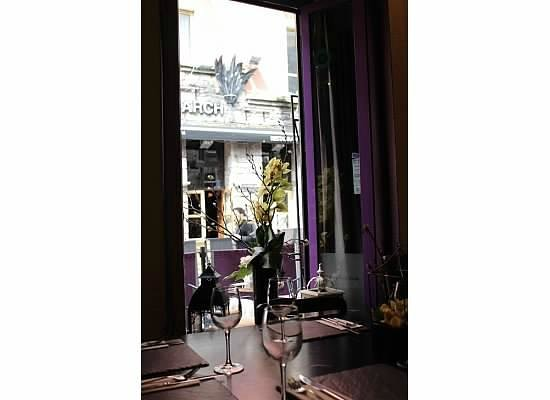 The Quay Street Kitchen: View from our table