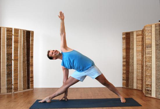 Ruud - Iyengar yoga - Alphen aan den Rijn - Yogastudio