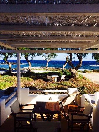 Nefeli Sunset Studios: Terrace view