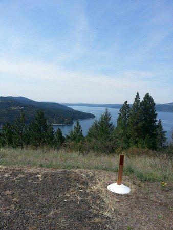 Coeur d'Alene Lake: View from Carlin Bay, Harrison, Idaho