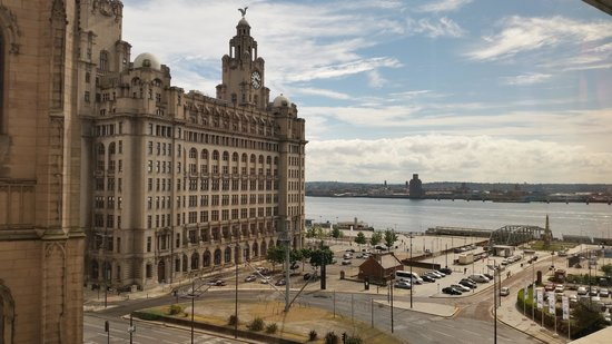 Mercure Liverpool Atlantic Tower Hotel: View from room
