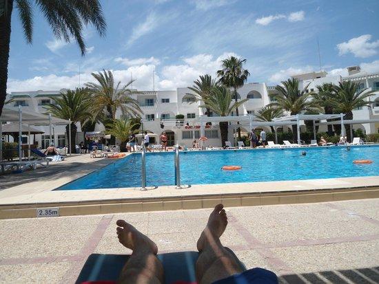 El Mouradi Port El Kantaoui : la piscine