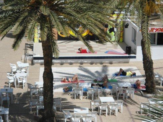 El Mouradi Port El Kantaoui : vue de notre balcon