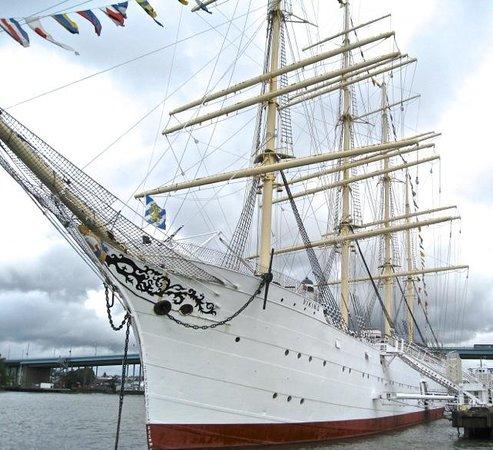 Novotel Goteborg: Beautiful ship's rigging