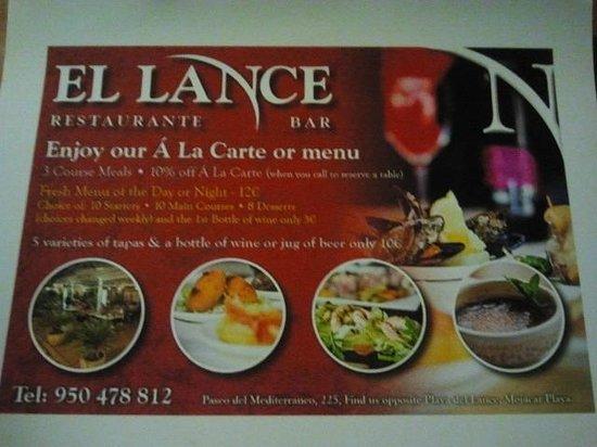 El Lance: presentacion