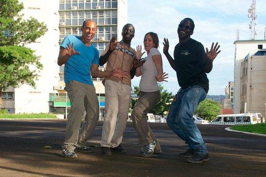 Kampala Boda Boda City Tours: Having fun