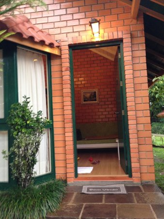 Hotel Cabanas Tio Muller: Entrada Cabanas