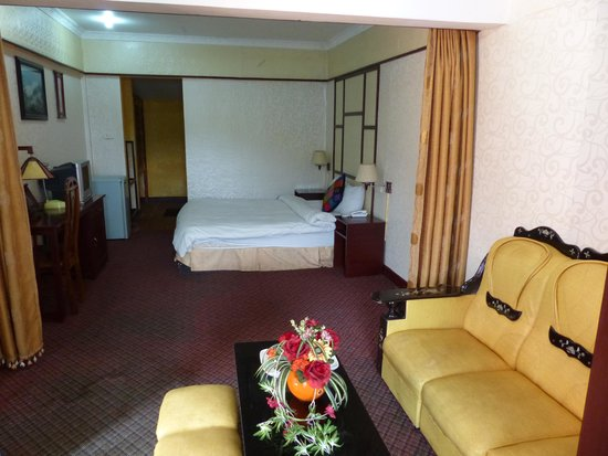 Grand View Sapa Hotel: our room on 4th floor