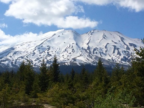 Mount St. Helens Visitor Center: Scenic view