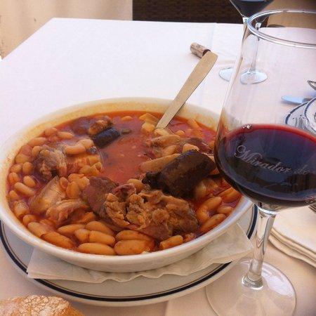 Mirador de Toro: Fabada asturiana