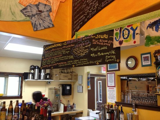 Flying Squirrel Bakery Cafe: Menu
